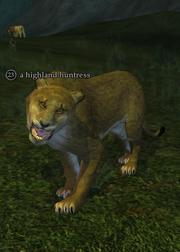 A highland huntress