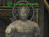A sentry of purity