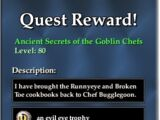 Ancient Secrets of the Goblin Chefs