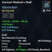 Ancient Warlock's Staff
