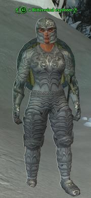 A Bitterwind explorer (heroic) (barbarian)
