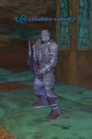 A Deathfist warlord