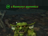 A Runnyeye apprentice