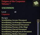 Enigma of the Carpenter Volume 7