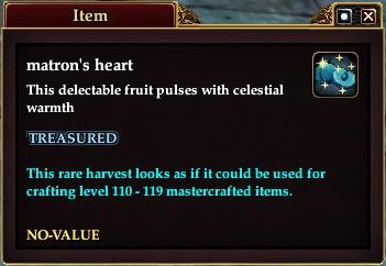 Matrons heart