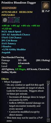 Primitive Bloodiron Dagger