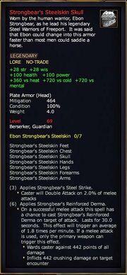 Strongbear's Steelskin Skull