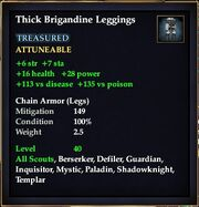 Thick Brigandine Leggings
