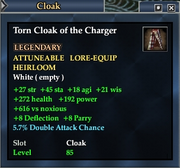 Torn Cloak of the Charger