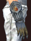 Vesspyr Warrior's Iron Gauntlets (Equipped)