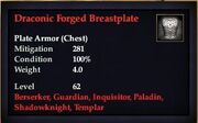 Draconic Forged Breastplate