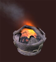 Hewn-stone-fire-pot
