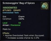 Screewoggins' Bag of Spices