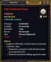 Self Contained Cloud