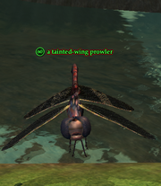 A tainted-wing prowler