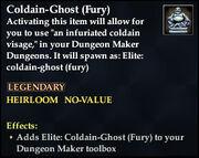 Coldain-Ghost (Fury)
