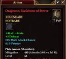 Dragoon's Pauldrons of Power