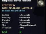 Fitzpitzles Hover Platform
