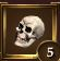 Icon achievement skull level 5