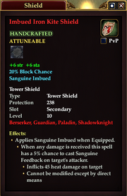 Imbued Iron Kite Shield