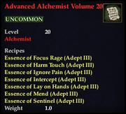 Advanced Alchemist Volume 20