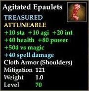 Agitated Epaulets