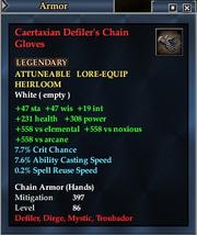 Caertaxian Defiler's Chain Gloves