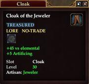 Cloak of the Jeweler