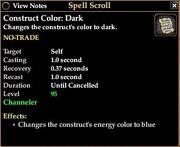 Contruct Color Dark