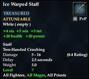 Ice Warped Staff