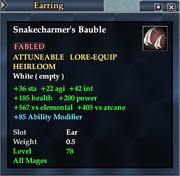 Snakecharmer's Bauble