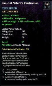 Tunicnaturespurification