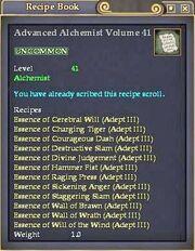Advanced Alchemist Volume 41