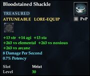 Bloodstained Shackle