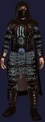 Dark Mail Armor of the Voice (Armor Set) (Visible, Female)