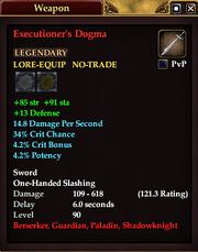Executioner's Dogma