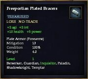 Freeportian Plated Bracers