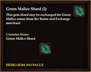 Green Malice Shard (2)