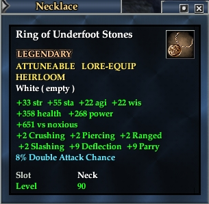 Ring of Underfoot Stones | EverQuest 2 Wiki | FANDOM powered