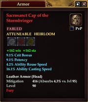Sacrosanct Cap of the Stormbringer