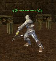 A Deathfist warrior