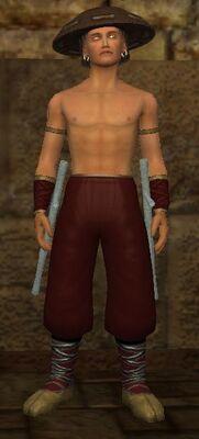 Adept Blood Hide (Armor Set) (Visible, Male)