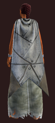Cloak of the Dunestalker equipped