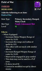Field of War