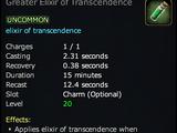 Greater Elixir of Transcendence