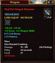 Maj'Dul Forged Hammer
