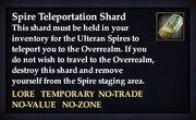 Spire Teleportation Shard
