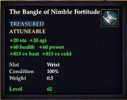 The Bangle of Nimble Fortitude