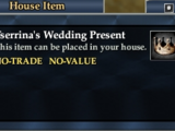 Tserrina's Wedding Present