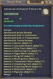 Advanced Alchemist Volume 46